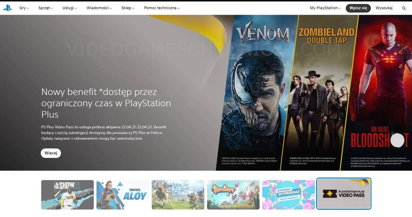 PlayStation Plus Video Pass wyciekło w Polsce. Co wiemy o tajemniczej ofercie?