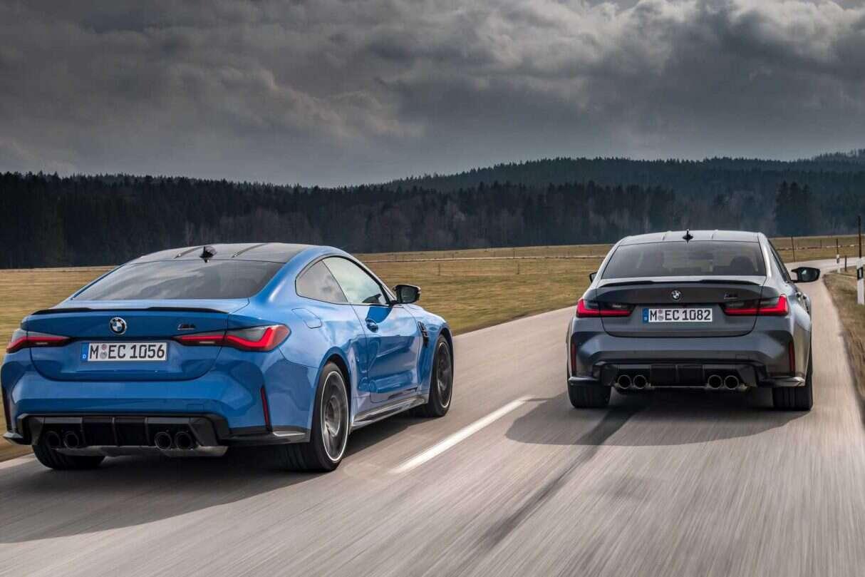 premiera BMW M3, M4 Competition xDrive 2022
