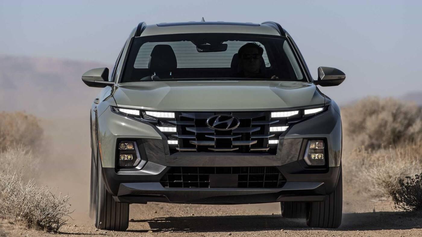 Premiera Hyundai Santa Cruz 2022. Kompaktowy pickup z nowoczesnym sznytem