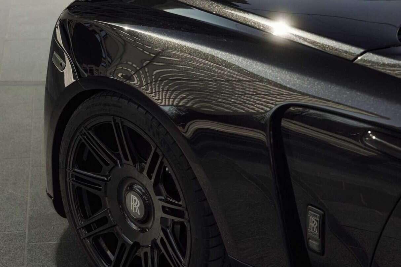 Rolls-Royce Black Badge Wraith od Spofec, Spofec Overdose