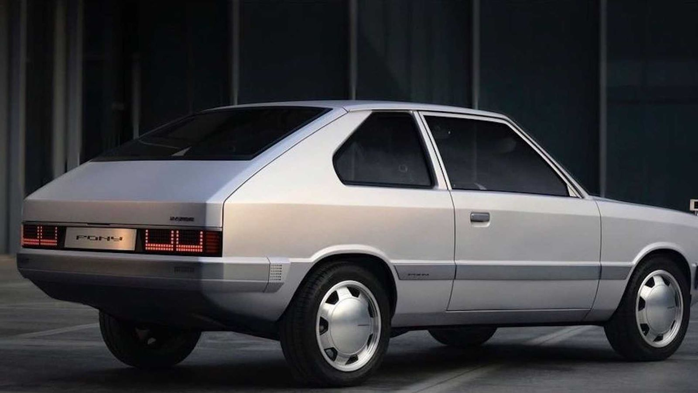 Spójrzcie na jedynego w swoim rodzaju Hyundai Pony EV