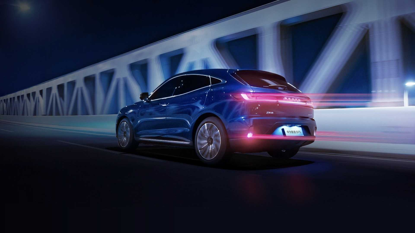 Spójrzcie na samochodowe technologie Huawei