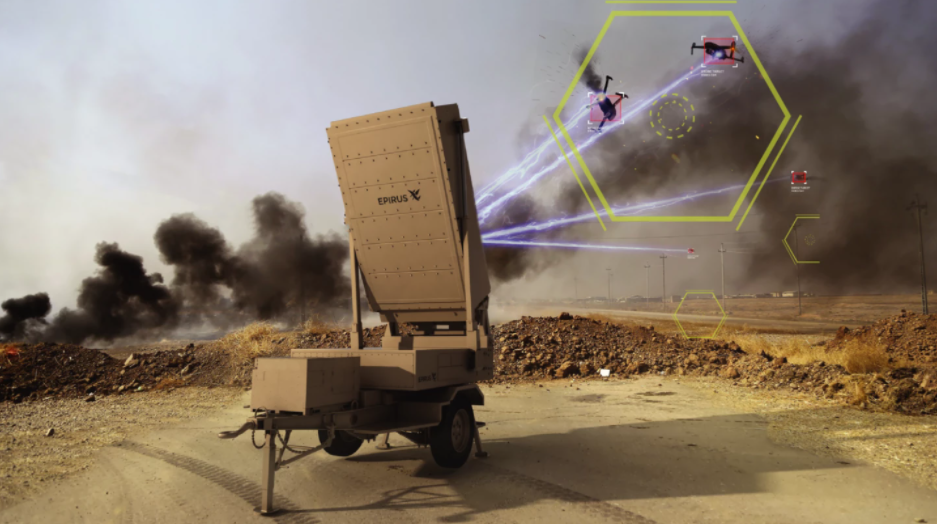 System broni Leonidas, Leonidas, mikrofalówka przeciw wrogim dronom