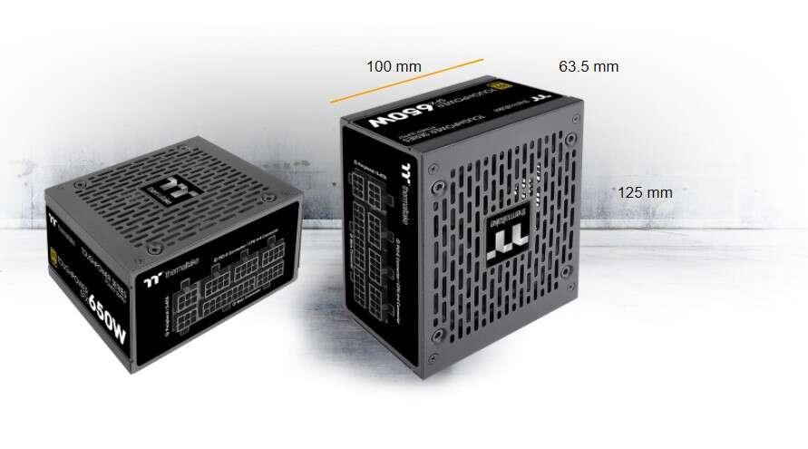 Szukacie kompaktowego zasilacza SFX? Spójrzcie na Toughpower SFX Gold
