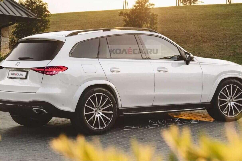 Mercedes GLC nowej generacji na renderach, Mercedes GLC nowej generacji, Mercedes GLC render