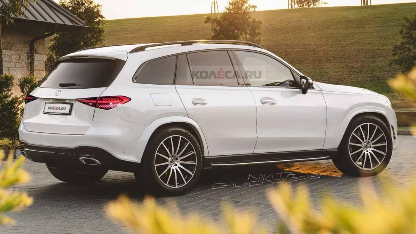 Mercedes GLC nowej generacji na renderach. SUV sięgnie po Klasę C