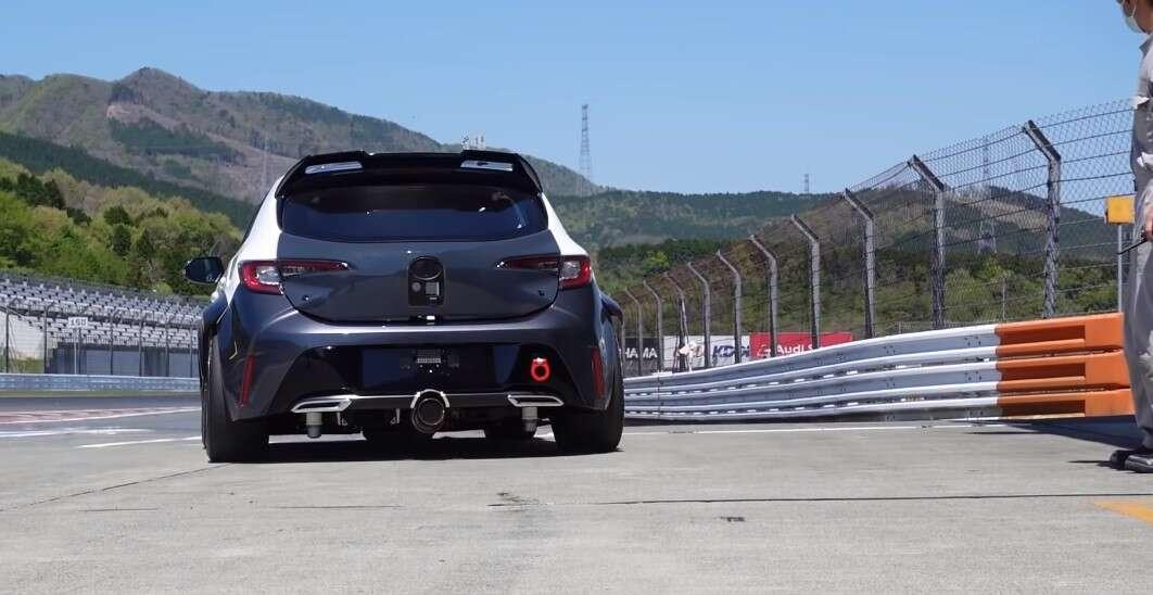Toyota Corolla Sport na wodór