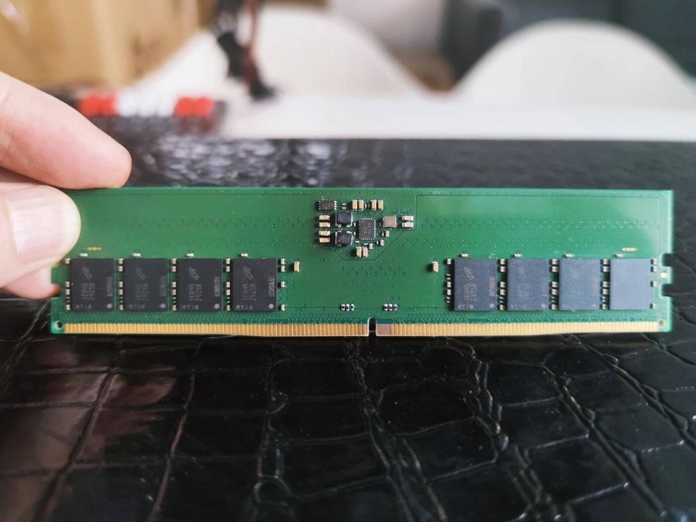 Ujawniono informacje o modułach DDR5, podczas gdy padł rekord DDR4