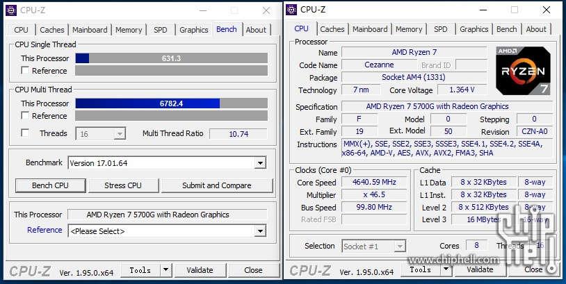 AMD Ryzen 7 5700G zdjęcia i test
