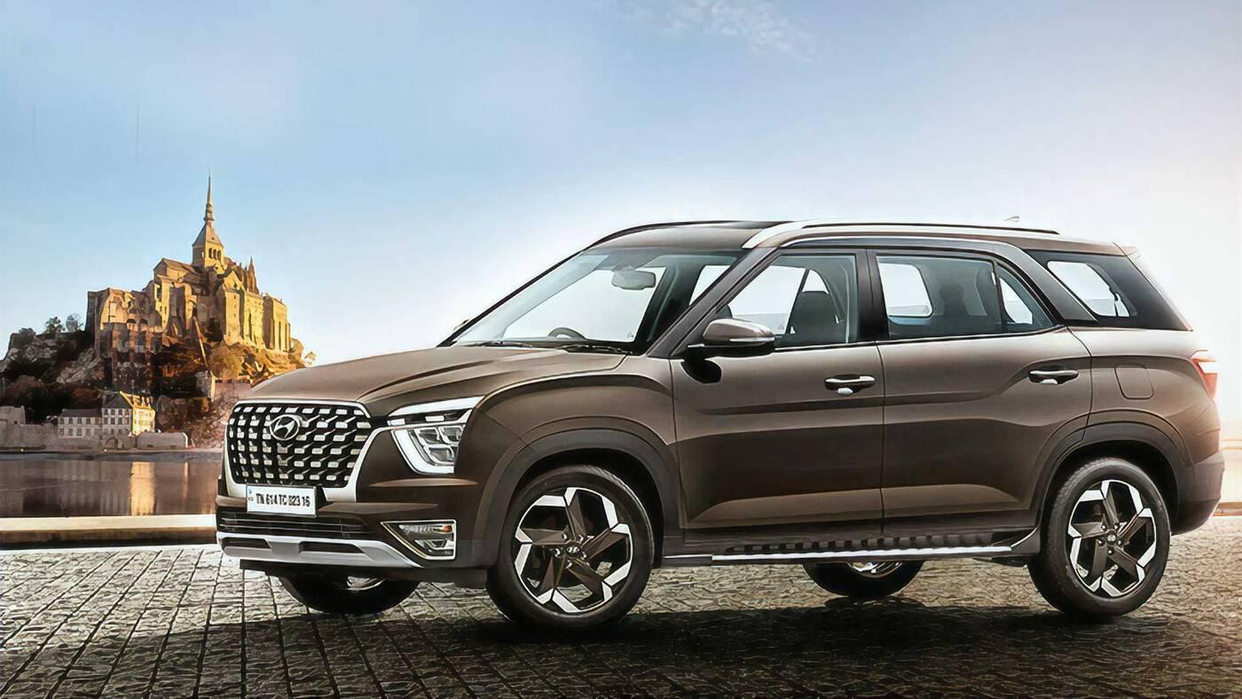 Wielka premiera Hyundai Alcazar 2022. Ktoś zamawiał trzyrzędowego SUVa?