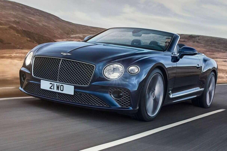 Bentley już bez dachu, Continental GT Speed Convertible, Bentley Continental GT Speed Convertible