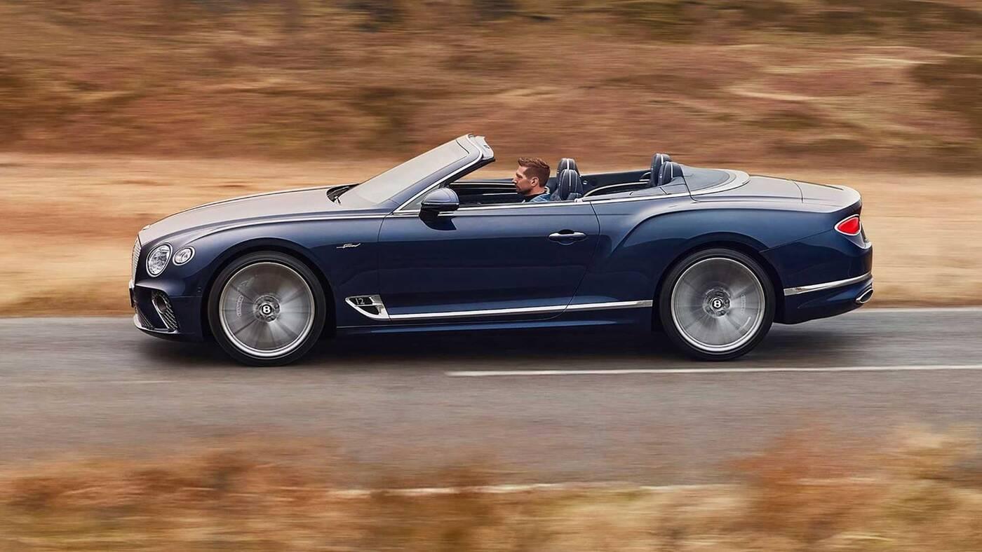Wyjątkowy Bentley już bez dachu. Oto Continental GT Speed Convertible