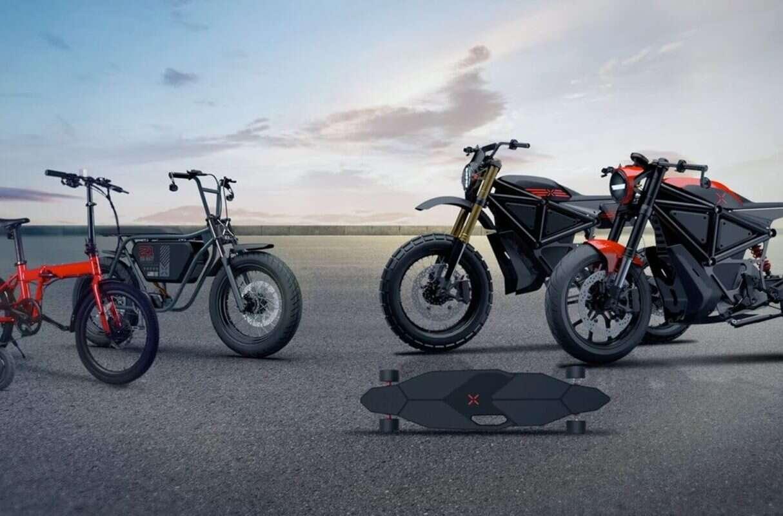 X Mobility, pojazdy X Mobility, hulajnoga X Mobility