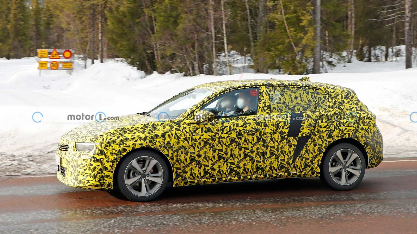 Zupełnie nowy Opel Astra na zdjęciach szpiegowskich
