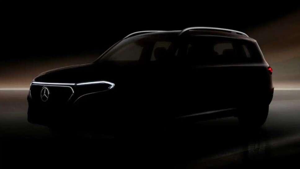 Zwiastun Mercedes EQB, czyli w pełni elektrycznego crossovera