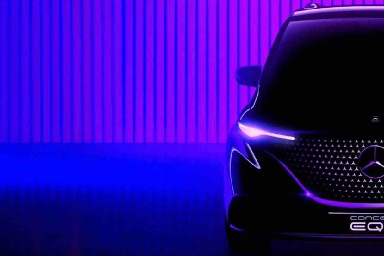 Zwiastun Mercedesa EQT