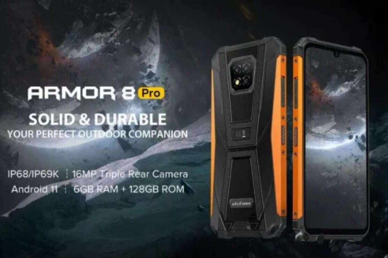 Armor 8 Pro, Armor 8, lepszy Armor 8, wytrzymały smartfon, Ulefone Armor 8 Pro