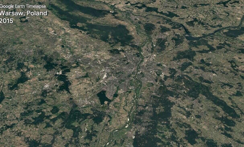 Google Earth Timelapse pokazuje, jak zmiany klimatu wpłynęły na naszą planetę