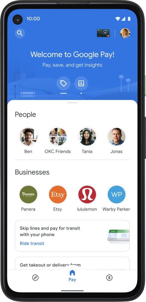 Google Pay z nowymi funkcjonalnościami w zakresie oszczędzania