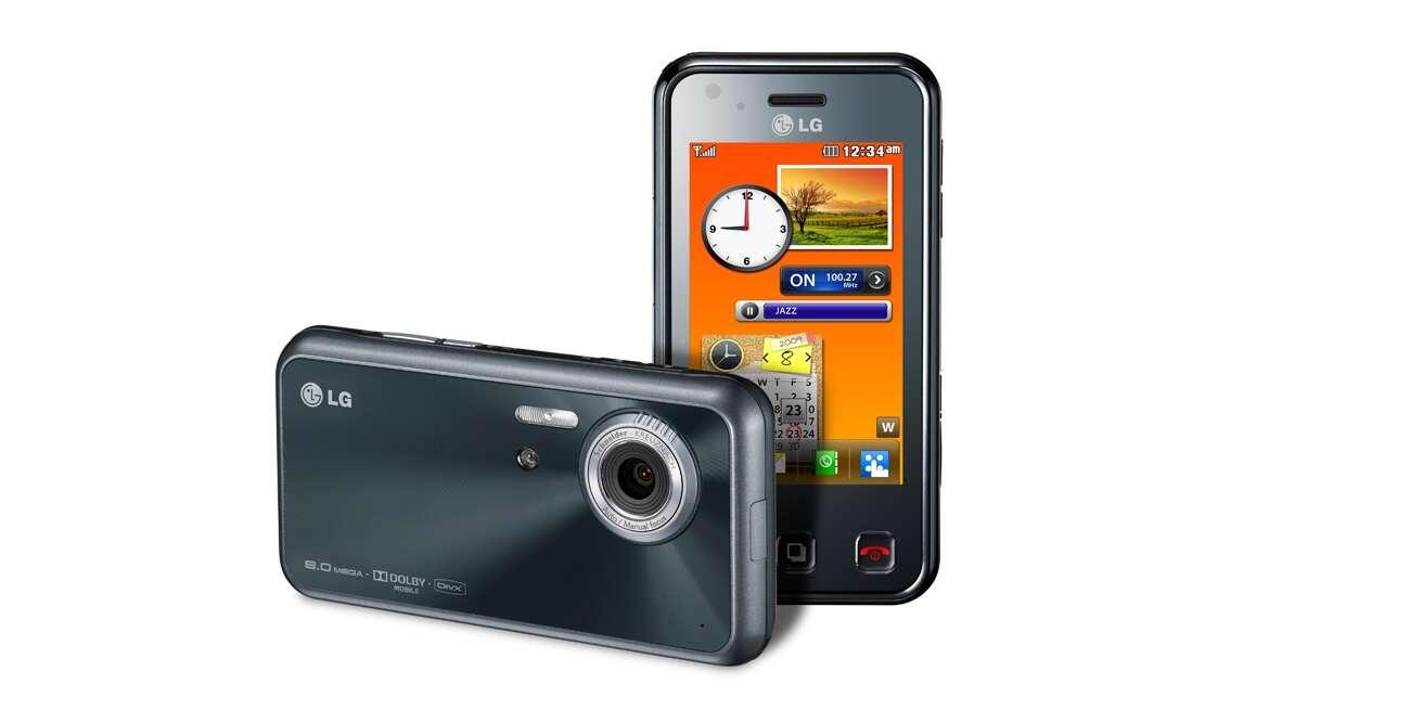 Smartfony LG LC KC910