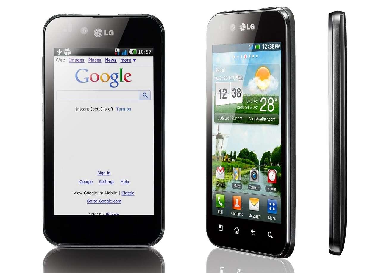 Smartfony LG LG P970