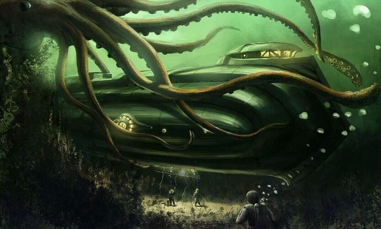 morskie potwory