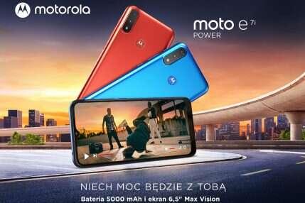Motorola moto e7i power dostępna w sprzedaży w Polsce!