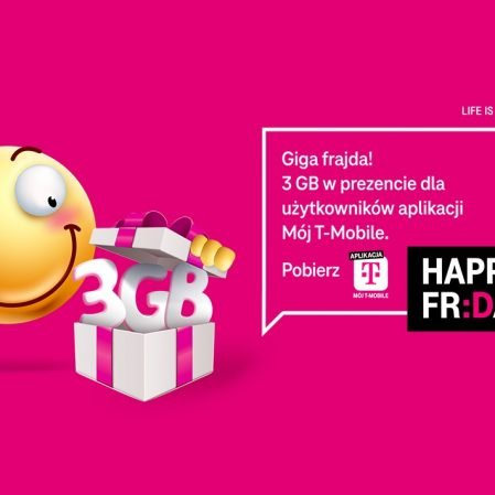 Kolejne darmowe gigabajty od T-Mobile na Happy Fridays