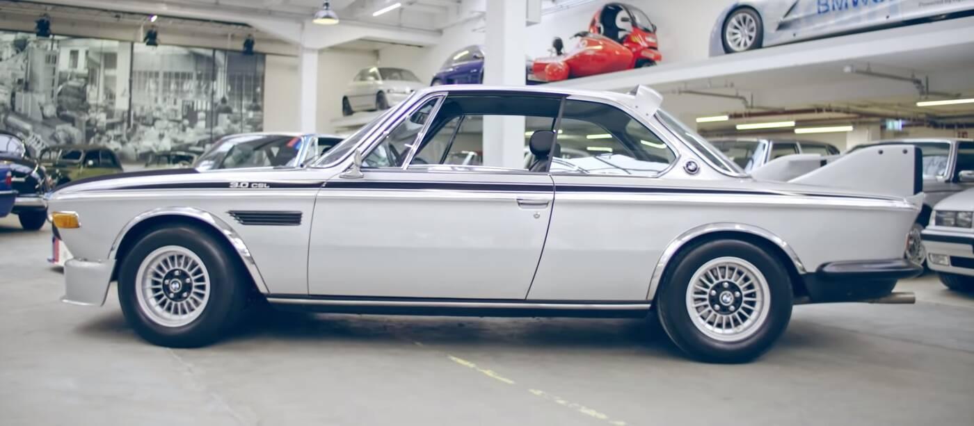 BMW przypomina o 3.0 CSL Batmobile, czyli kultowej E9