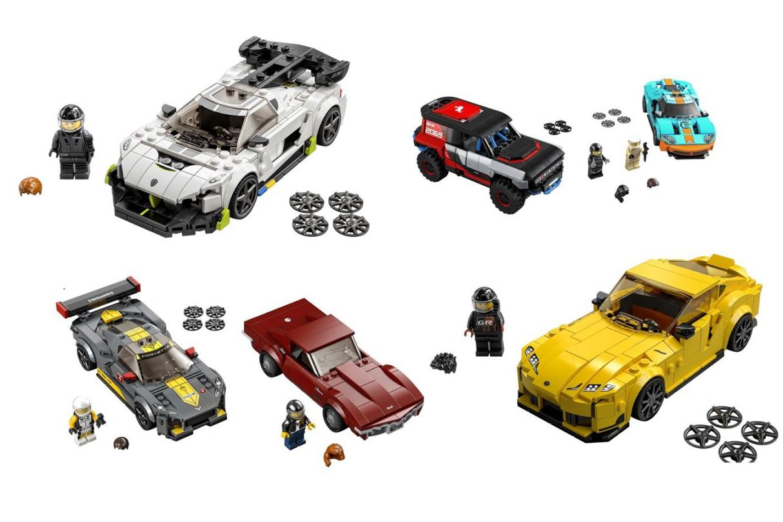 zestawy LEGO Speed Champions 2021, LEGO Speed Champions 2021, Speed Champions 2021