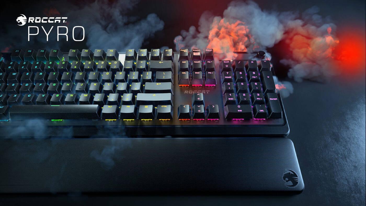 Spójrzcie na nowości firmy Roccat. Gamingowo, kolorowo i kusząco