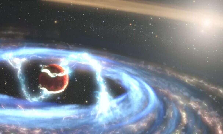 Odkryta niedawno egzoplaneta jest rekordowo młoda. Zaobserwował ją kosmiczny weteran