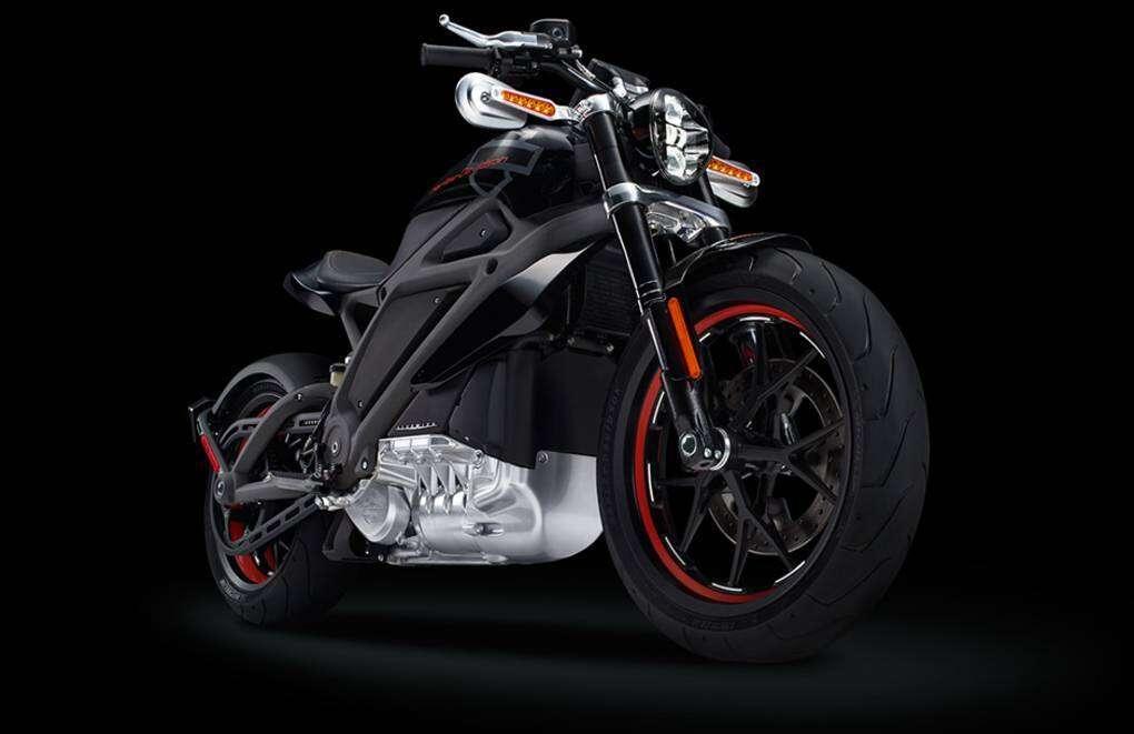 Harley Davidson przedstawia elektryczny motocykl!