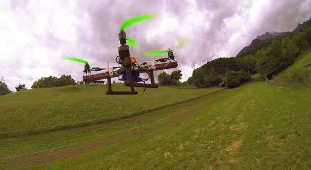 Czekoladowy dron