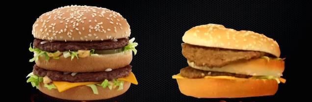 Czy jedzenie z McDonalda może wyglądać jak na reklamach?