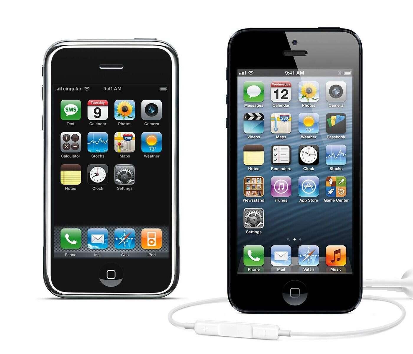 iphone1vs5