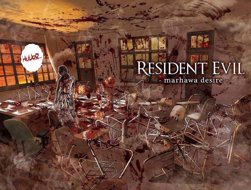 Recenzja komiksu Resident Evil Marhawa Desire