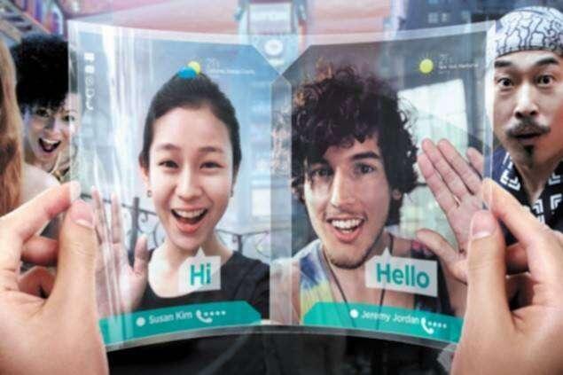 Składany tablet od Samsunga jeszcze w tym roku?