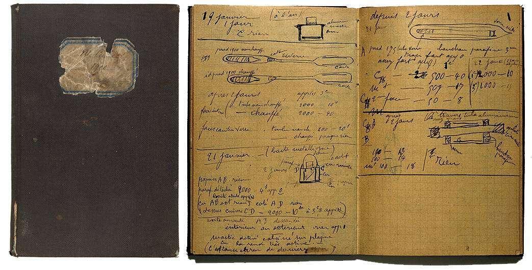 Notatnik Marii Skłodowskiej-Curie nadal wymaga ołowiowego pudełka