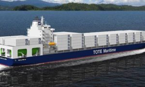 Największe statki napędzane gazem prawie gotowe do użytku
