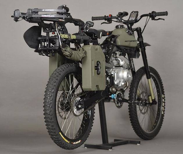 Zmotoryzowany rower, który pozowli wam przetrwać apokalipse
