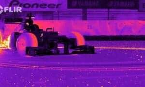 F1 w termowizji wygląda fantastycznie!
