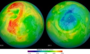 Dziura ozonowa wciąż się powiększa