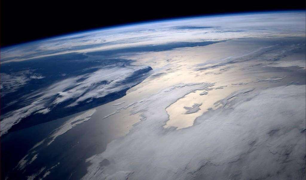 Widok z siłowni kosmonautów zapiera dech w piersiach
