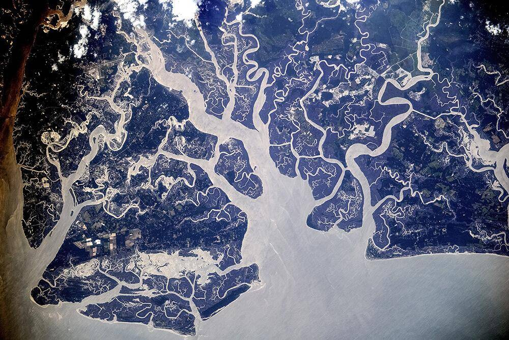 Interaktywna mapa ze zdjęciami ze stacji kosmicznej
