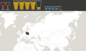 Mapa alkoholowych preferencji
