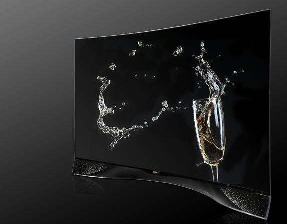 Telewizor LG z kryształami od Swarovskiego