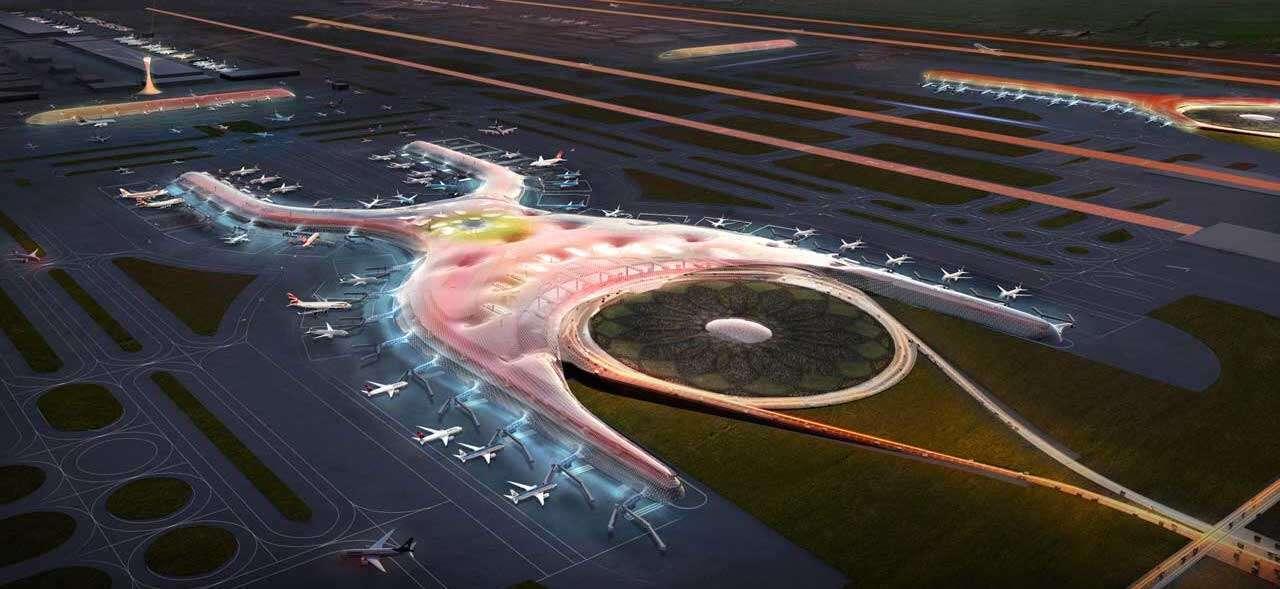 Mega-lotnisko w Meksyku będzie zapewniało sobie energię i wodę