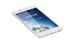 KAZAM Tornado 348 front white screen 2