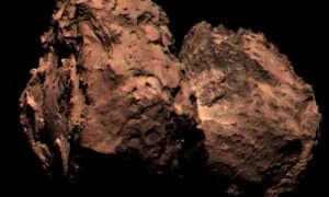 Pierwsze kolorowe zdjęcie komety wykonane przez sondę Rosetta